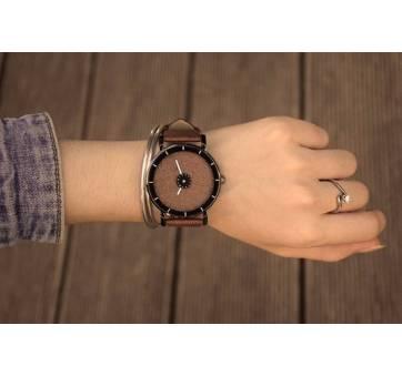 Женские Часы наручные PINBO, коричневые  3615
