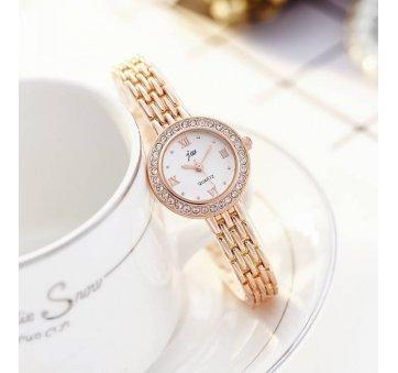 Женские Часы наручные JW, золотистые  3637