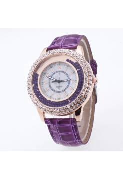 Женские часы JW, фиолетовые