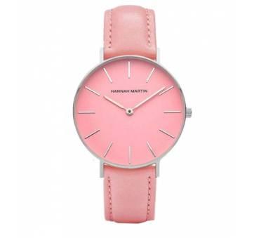 Женские Часы наручные Hannah Martin, розовые  3646