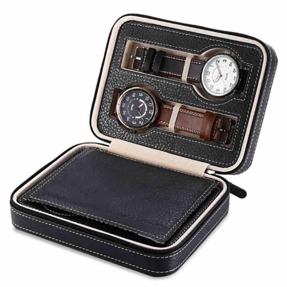 Шкатулка для часов органайзер коробка  3521