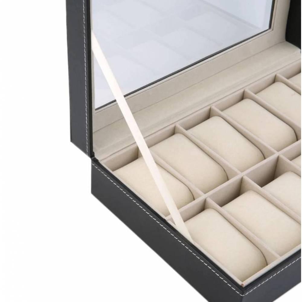 Шкатулка для часов органайзер коробка  3522