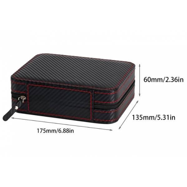 Шкатулка для часов органайзер коробка  3525