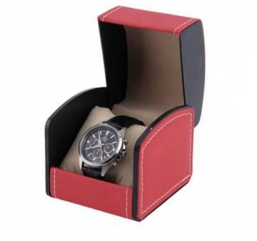 Коробка красная для часов органайзер, упаковка 3531
