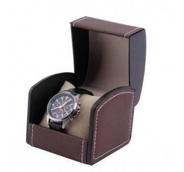 Коробка коричневая для часов органайзер, упаковка 3532