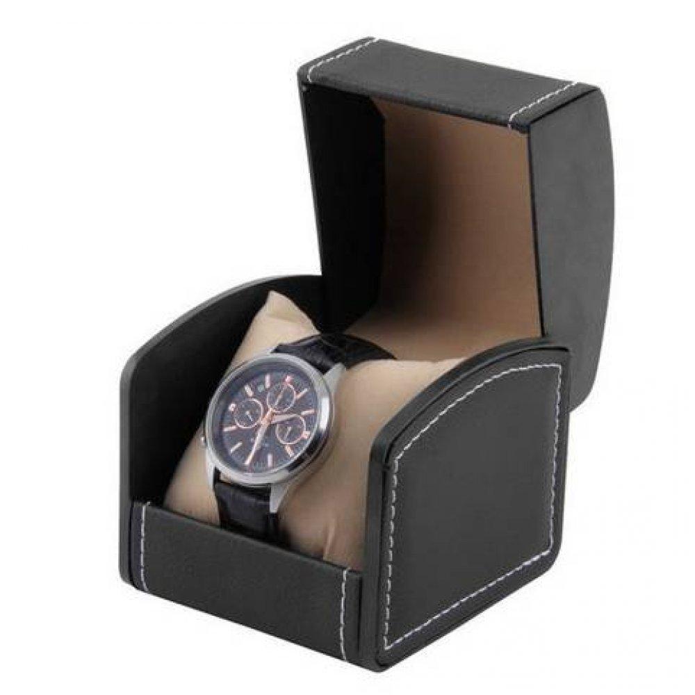 Шкатулки и коробки Коробка чёрная для часов органайзер, упаковка 3534