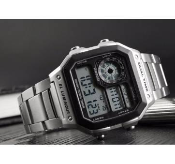 Мужские Часы наручные SKMEI, серебристые  3823