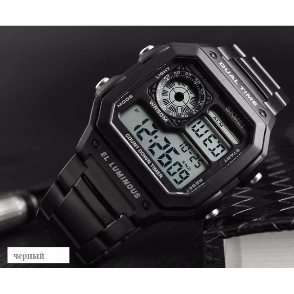 Мужские Часы наручные SKMEI, черные   3824