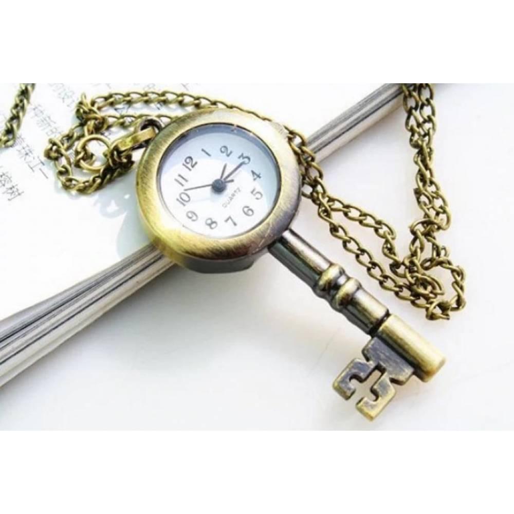 Карманные часы с цепочкой Susenstone, ключ 3862
