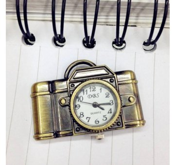 Карманные часы с цепочкой Susenstone, фотоаппарат  3863