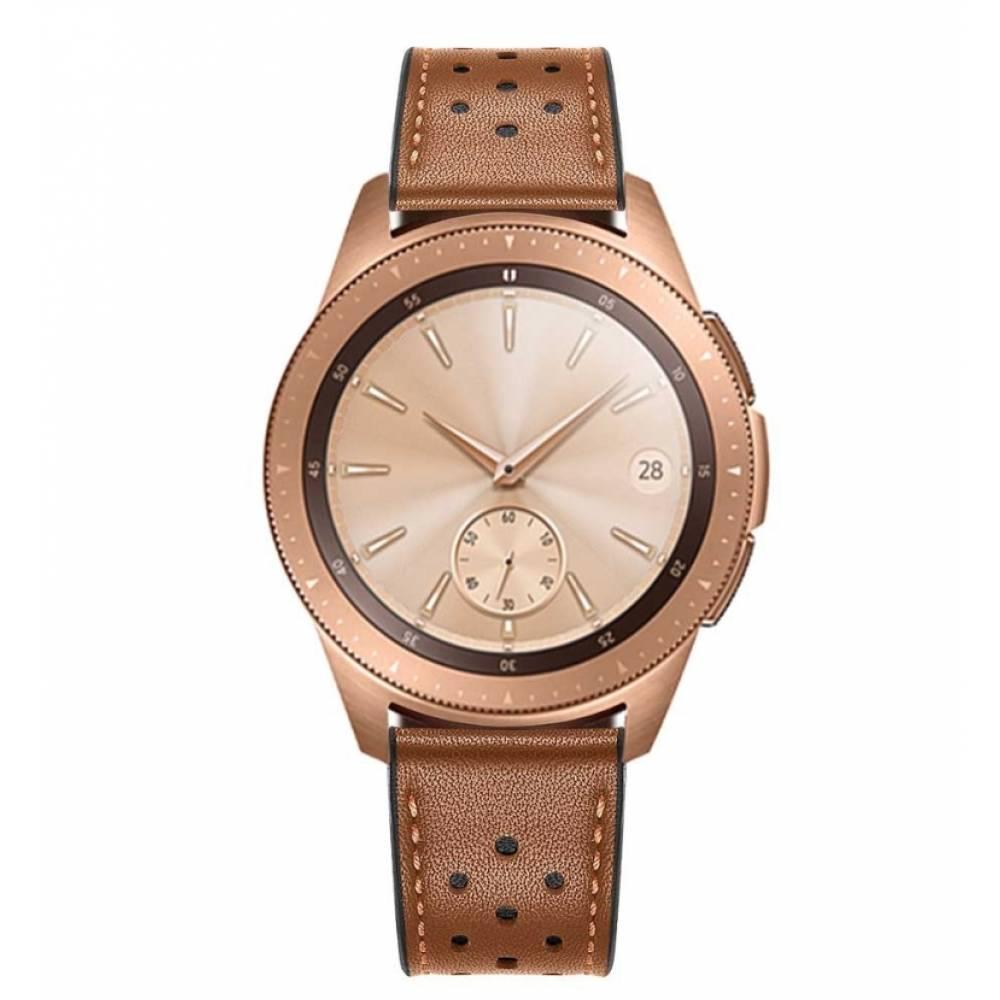 Ремешки для часов Ремешок кожаный Susenstone, коричневый  3869