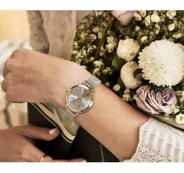 Женские Часы наручные Vansvar, золотистые  3736