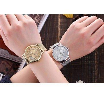 Женские Часы наручные Vansvar, серебристые  3738