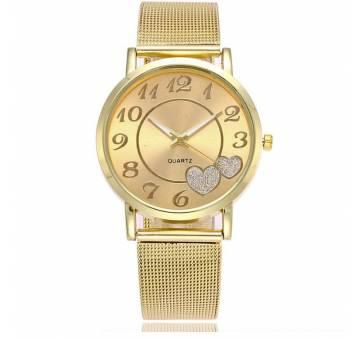 Женские Часы наручные Vansvar, золотистые  3739