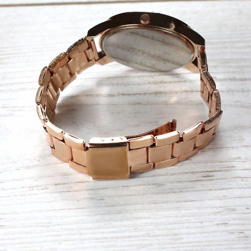 Женские Часы наручные Vansvar, золотистые  3741