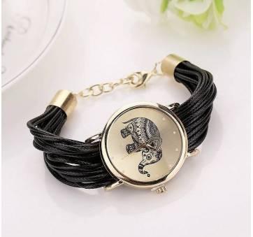 Женские Часы наручные CCQ, черные 3750
