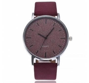 Женские Часы наручные Vansvar, красные  3817