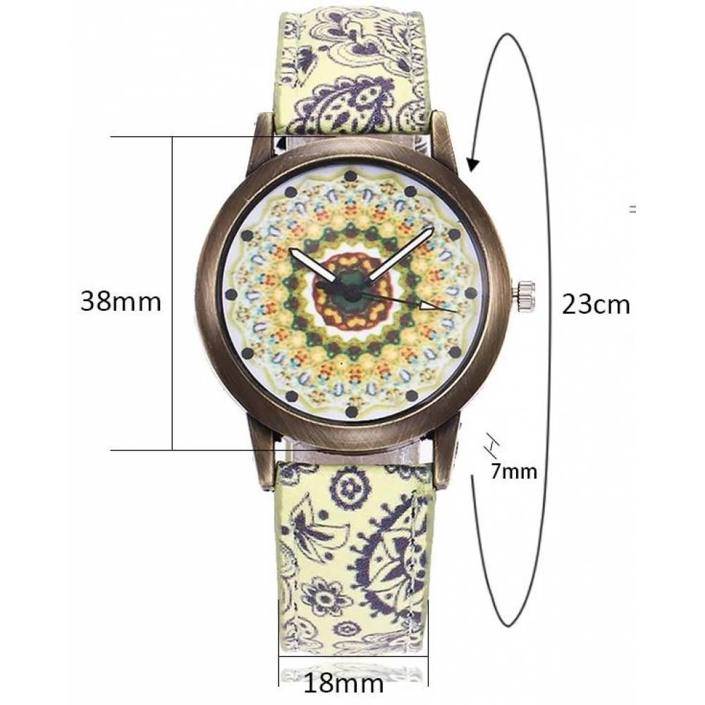 Женские Часы наручные Vansvar, с узором 3820