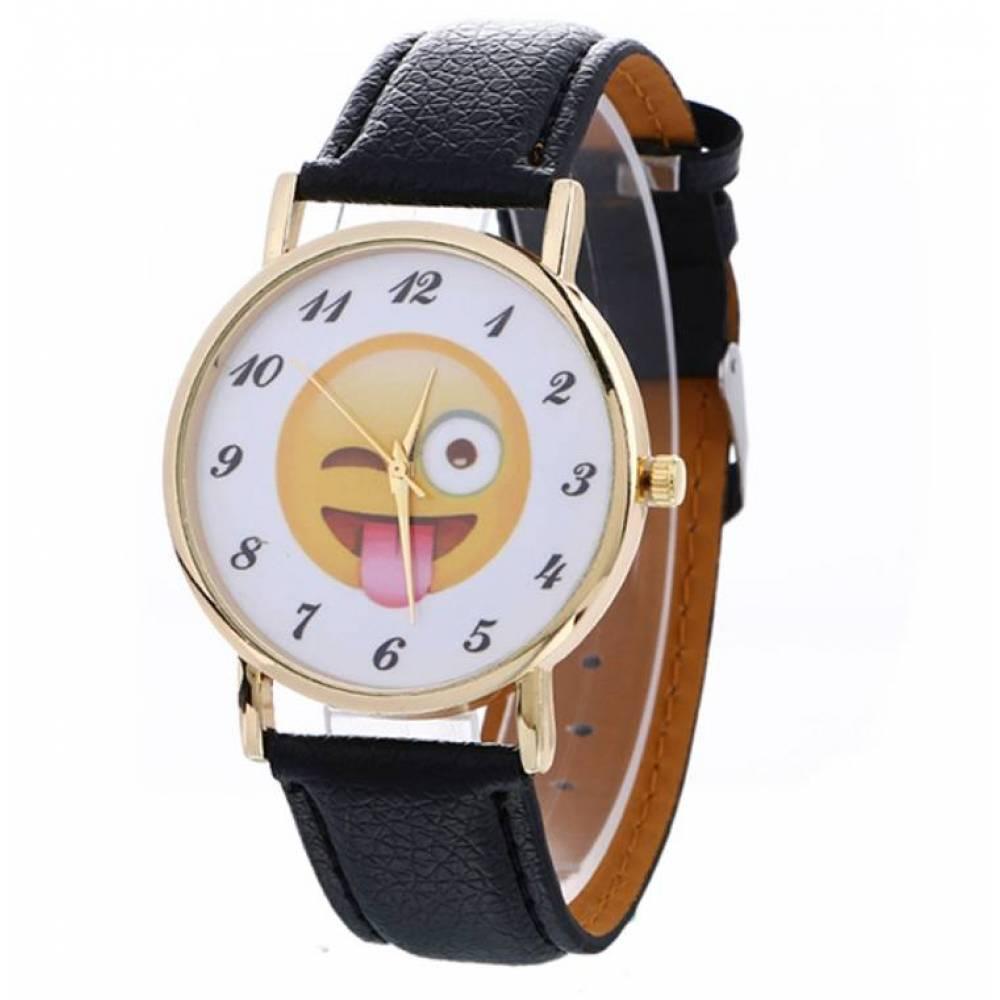 Часы наручные Эмодзи, смайлик 3838