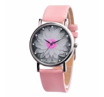 Женские Часы наручные Xiniu с цветком, розовые  3841
