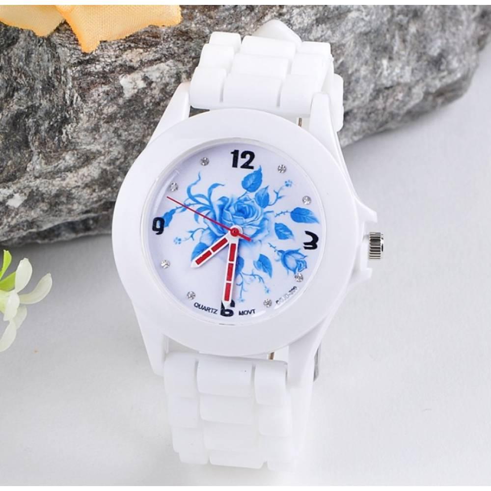Женские Часы наручные Susenstone, белые  3848