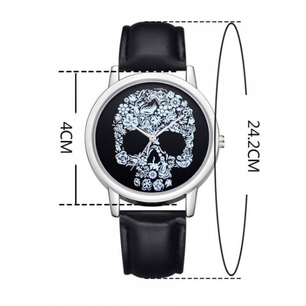 Женские Часы наручные Susenstone, череп 3855