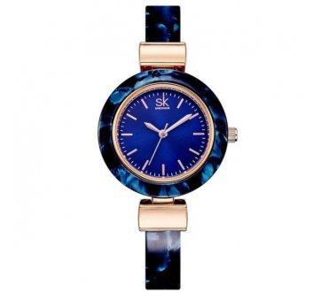 Женские Часы наручные SK, синие  4002