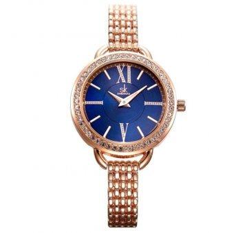 Женские Часы наручные SK, золотистые   4004