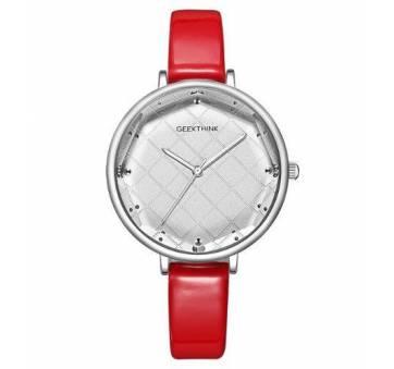 Женские Часы наручные Geekthink, красный  4123