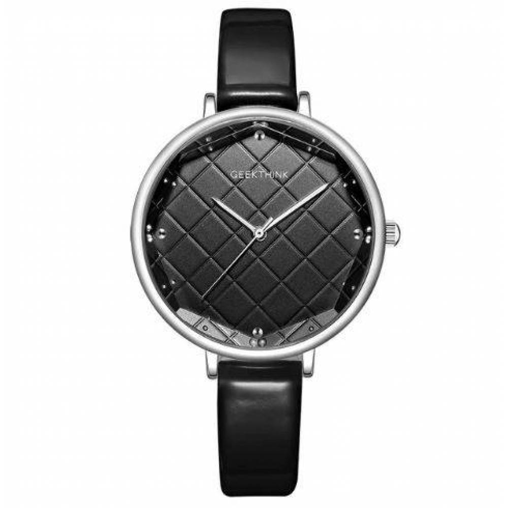 Женские Часы наручные Geekthink, черные  4124