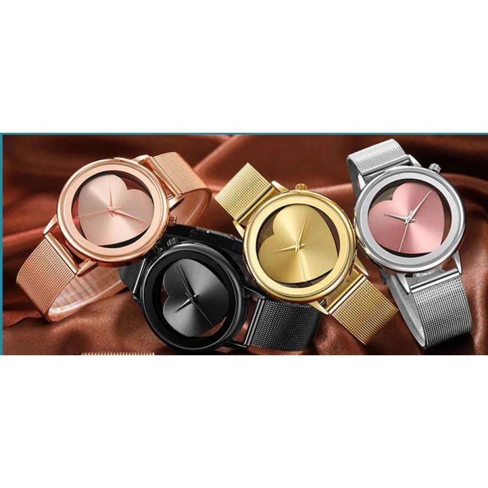 Женские Часы наручные Geekthink, золотистые  4126
