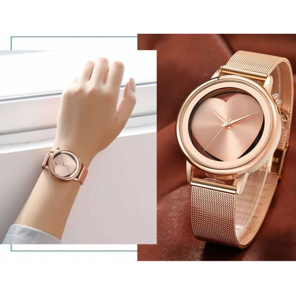 Женские Часы наручные Geekthink, Золотистые 4128
