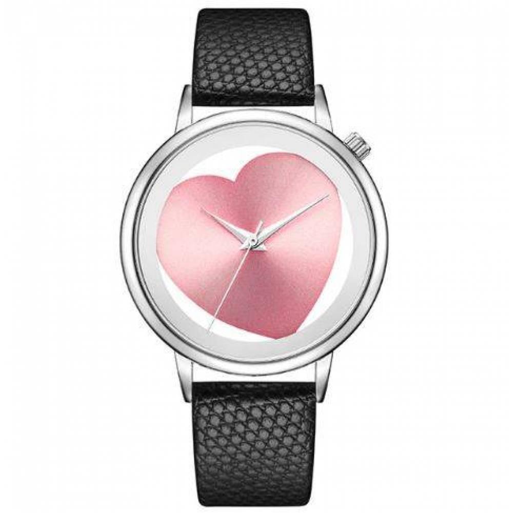 Женские Часы наручные Geekthink, Розовое сердце  4129