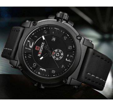 Мужские Часы наручные Naviforce military, черные  4156