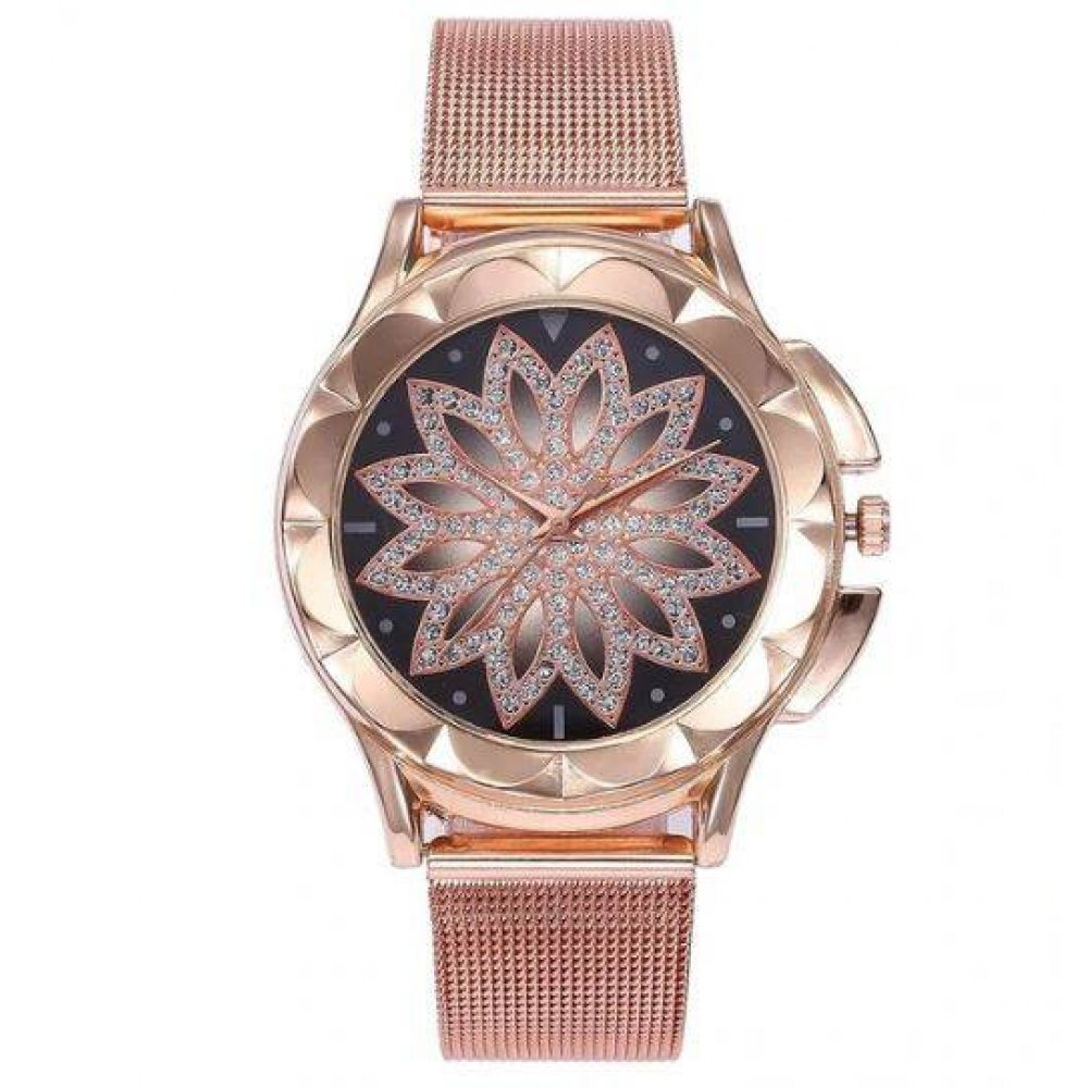 Женские Часы наручные Vansvar, золотистые  4161