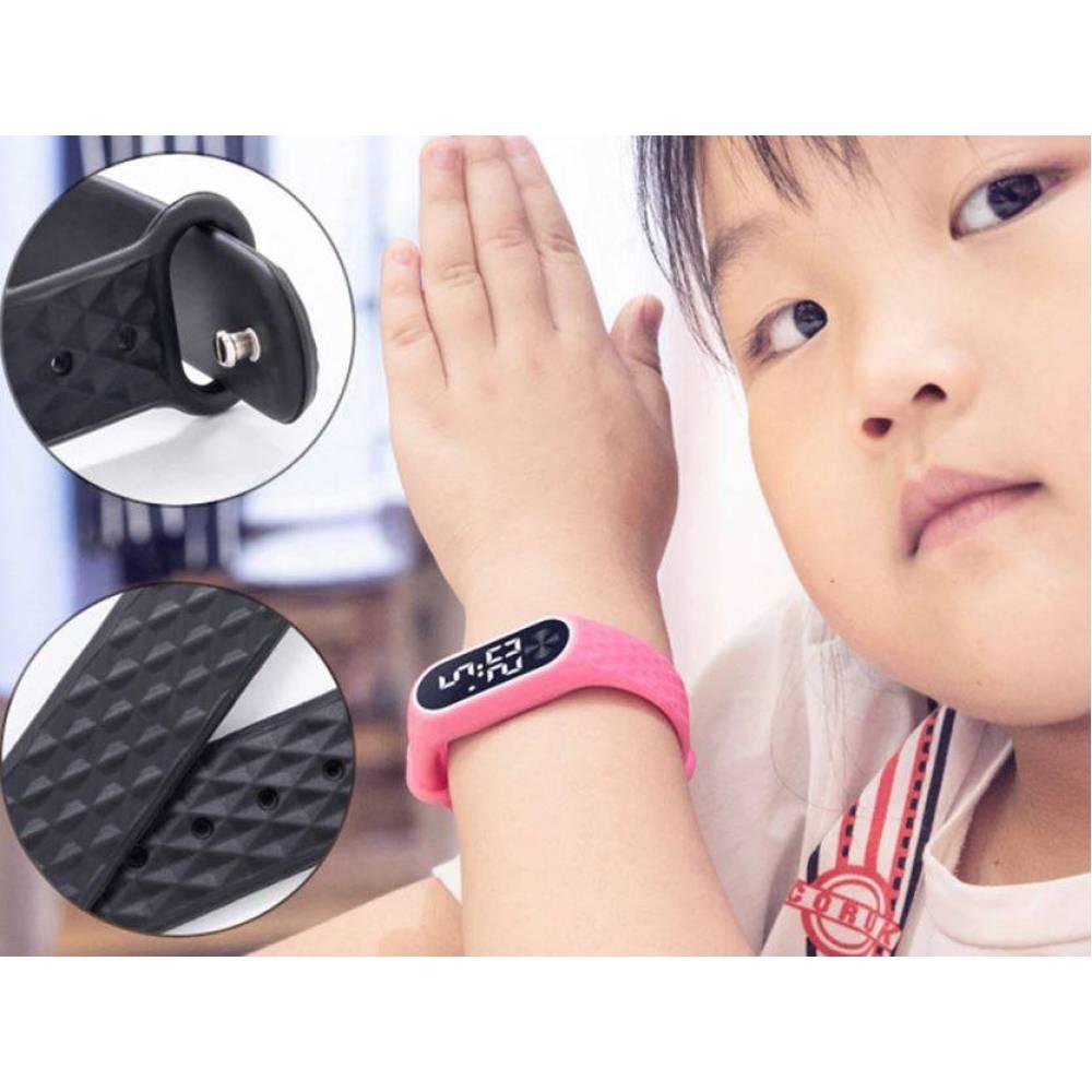 Детские Часы наручные BINZI, белые 4315