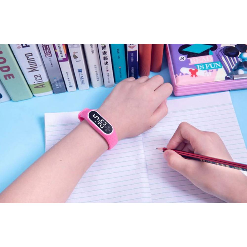 Детские Часы наручные BINZI, розовые  4316