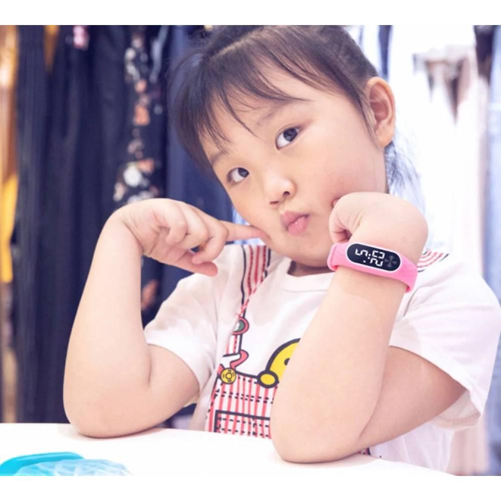Детские Часы наручные BINZI, голубые  4317