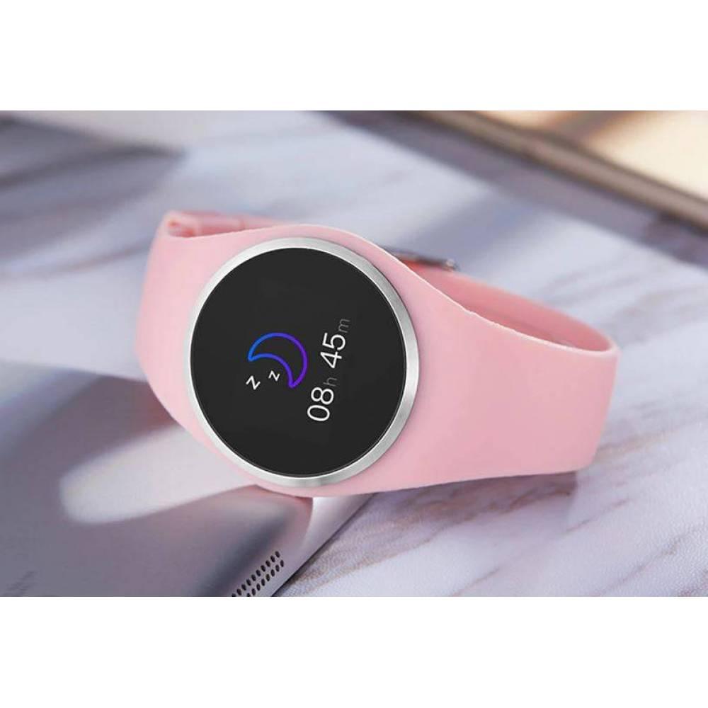 Смарт-Умные часы SCOMAS, розовые  4321