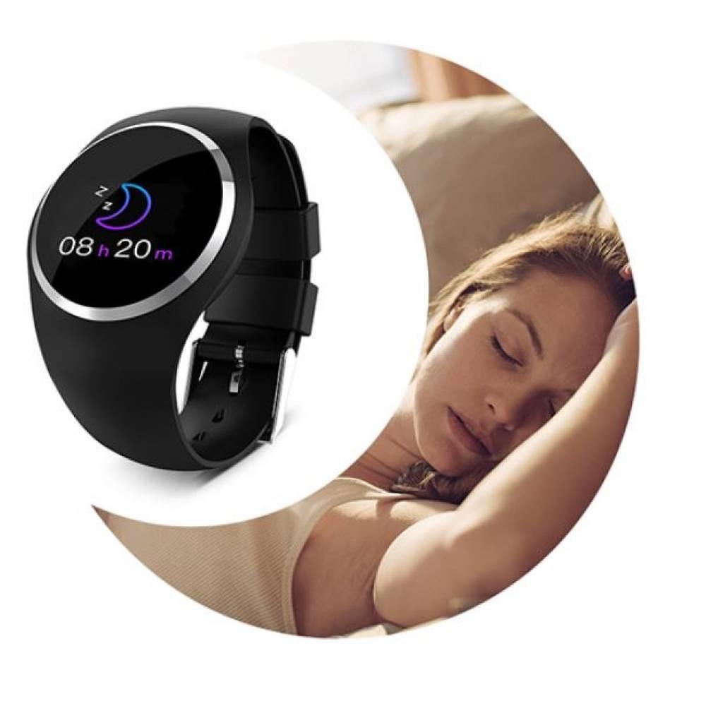 Смарт-Умные часы SCOMAS, черные  4322
