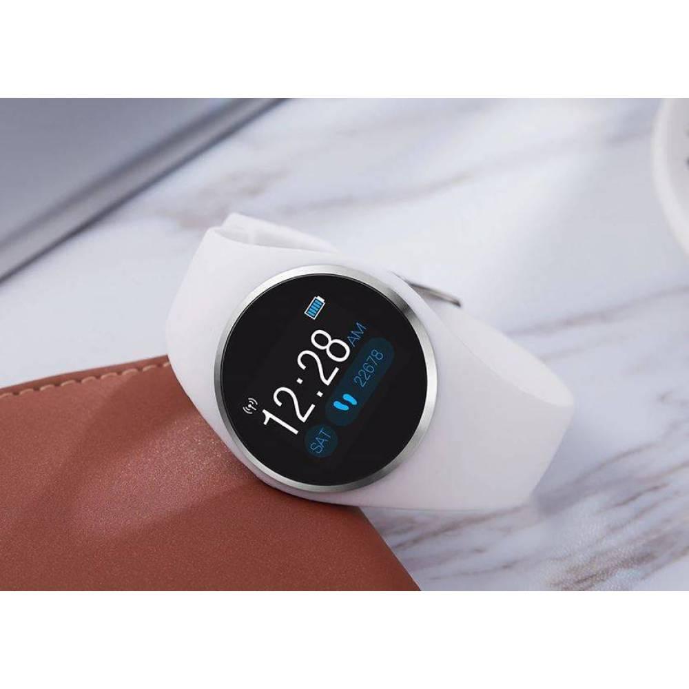 Смарт-Умные часы SCOMAS, белые  4323