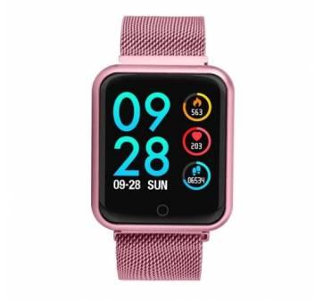 Смарт-Умные часы Abay, розовые  4326