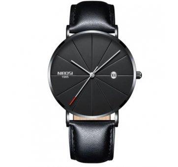 Мужские Часы наручные NIBOSI, черные  4335