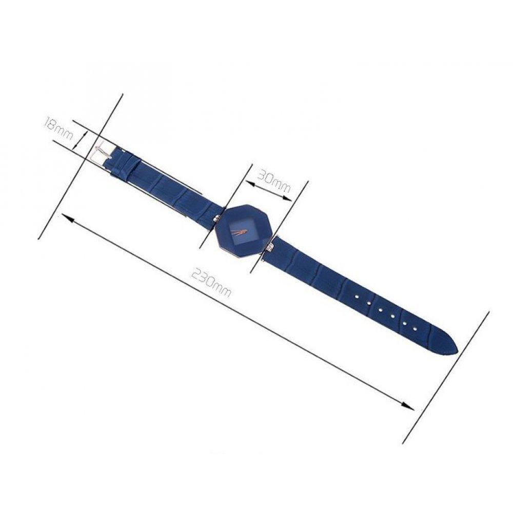 Женские Часы наручные Relogio, синие  4381