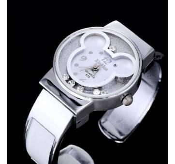 Детские Часы наручные Микки Маус, белые  4383