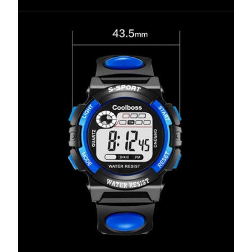 Детские Часы наручные coolboss, синие 4386