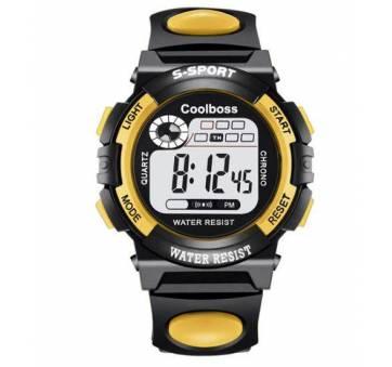 Детские Часы наручные coolboss, желтые 4387