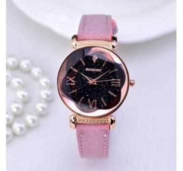 Женские Часы наручные Gogoey, розовые  4391