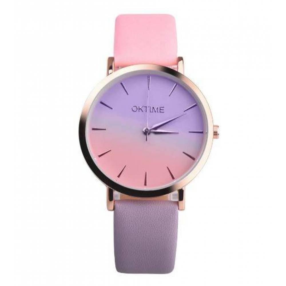 Женские Часы наручные Duobla, розовые  4393