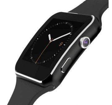 Смарт-Умные часы X6, черные  4394